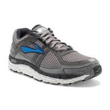 Brooks Men's  Addiction 12 Grey Blue White Men Running Shoe 110196 Width D/2E/4E