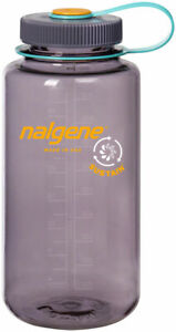 Nalgene Sustain Water Bottle - 32oz, Wide Mouth, Aubergine