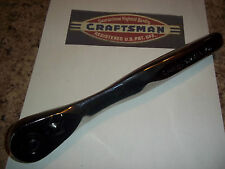 """New Craftsman Thin Profile 1/2"""" Dr 75-Tooth Full Polish Quick Release - Ratchet"""