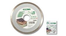 Azulejos de corte de diamante disco de 115mm X 2mm X 22mm Hoja de borde continuo Amoladora de ángulo