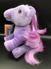 1983 My Little Pony Blossom Purple Plush Toy Stuffed Animal Vintage Hasbro