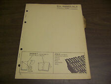 12046 John Deere Parts Catalog Pc-429 Hammer Mill 10 dated 3 54