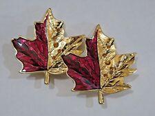 Autumn Leaf Pins New Two Talbots