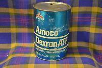 Vintage AMOCO Dexron ATF 1 Quart Transmission Fluid-Amocio Oil Co Chicago