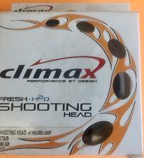 Climax Shooting Head ST 8/9 450 Grain 33 ft. Sink 2/4 Fly Line W/Welded Loop