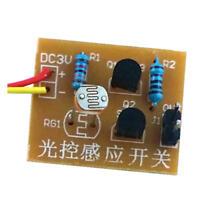 4Pcs DIY Kit Light-Control Sensor Switch Suite For DIY Electronic Trainning IJ