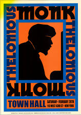 "Thelonious Monk T Monk Poster Swing Big Band Jazz 17"" x 24"