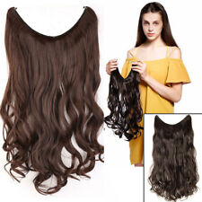 100% Natural Wire in Hair Extensions Invisible as human hair Brown Blonde YL99