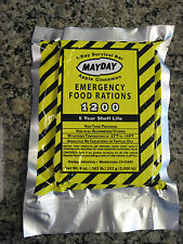 Mayday Apple Cinnamon Emergency Food Rations Survival 1200 Calorie Bar Prepper
