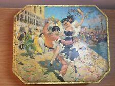 VINTAGE ~ FLAMENCO DANCERS BISCUIT TIN