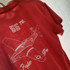 Vintage 1980s Offutt Aero Helicopter Military Air Force Fighter T Shirt L Surf