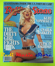 ROLLING STONE USA MAGAZINE 1007/2006 Christina Aguilera DMX Gnarls Barkley No cd