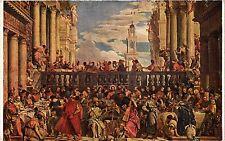 CPA P. VERONESE Les Noces de Cana. Louvre (286741)
