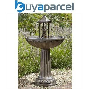 Smart Garden Solar Dancing Couple Garden Water Feature Fountain Bath 1170441