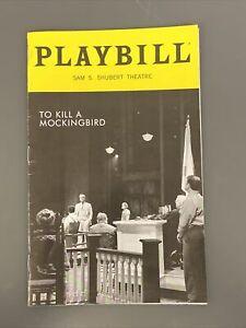 TO KILL A MOCKINGBIRD Aug 2019 Broadway Playbill! JEFF DANIELS Erin Wilhelmi