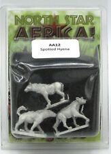 North Star Africa! AA12 Spotted Hyena (African Animals) Wildlife Miniatures NIB