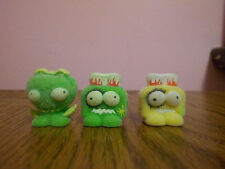 Moose The Trash Pack Fuzzy Green Sore Berry & Green & Yellow Burny Series 2 #003