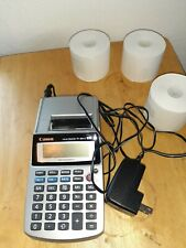 Canon Palm Printer P1-DH III Calculator Adding Machine with AC Adapter Tested