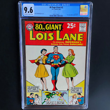80 PAGE GIANT #3 - LOIS LANE (DC 1964) 💥 CGC 9.6 💥 ONLY 1 HIGHER! EIGHTY Pg