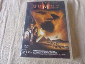 The Mummy (DVD, 2003) Region 2 & 4 Brendan Fraser, Rachel Weisz