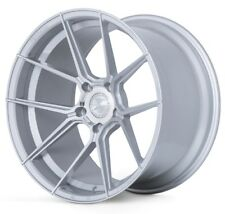 20x9 Ferrada Forge8 FR8 5x112 +27 Machine Silver Wheels (Set of 4)