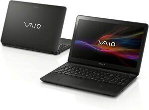 SONY Vaio svf152c29m 15.6 HD touchscreen laptop,6GB ram,240GB ssd,win10.