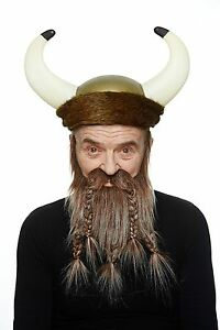 High quality Viking, dwarf fake, self adhesive beard