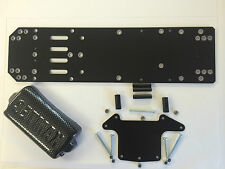 1300 Stock Car Racing Saloon ventilata chassis nero GRP 2.4 mm kamtec V12 £ 15.99