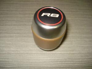 Audi R8 Schalthebelknopf Leder Aluminium Schaltknauf 420711141N gearstick knob