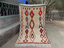 Carpet Vintage Moroccan Handmade Berber Rug Azilal Carpet Wool boujad rug