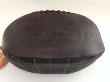 Portland Vintage Tweed Brown Rugby Wash Bag Men Present Gents Gift Travel Bag