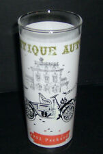 Vintage Drinking Glass - Antique Autos 1902 Packard