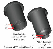 """FIPCF-PLVF Polylok Roof plumbing roof vent odor control filter size 3"""" 4"""""""
