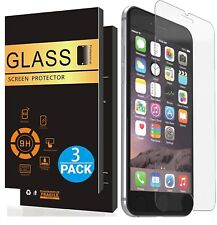 3x Panzerfolie iPhone 7 iPhone 8 Schutzglas Displayschutz Folie echt Hartglas 9H