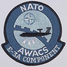 Patch Aufnäher NATO AWACS E-3A Component .........A2520