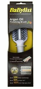 Babyliss Argan Oil Finishing Brush With Replaceable Argan Oil Strip