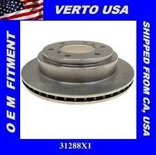 Verto USA Disc Brake Rotor-Rear for 2000-2006 Mitsubishi Montero 31288X1