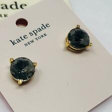 Kate Spade Rose Gold Glitter Round Gumdrop Stud Earrings O0ru1624