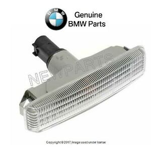 For BMW E39 M5 Front Left or Right Additional Side Light w/ White Lens Genuine