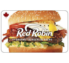 Red Robin Gift Card $25, $50, or $100 - email delivery