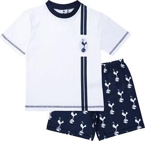 Tottenham Hotspur F.C Boys Short Pyjamas, Official Spurs Football Summer Pjs