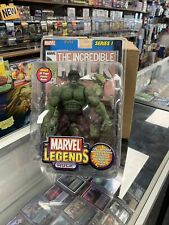 Toy Biz Marvel Incredible Hulk Action Figure And Comic Book 314