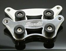 Motorcycle Bike Side Plates for Suzuki Bandit Range Polished & Eng Fastec Racing