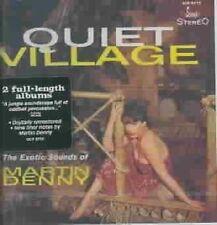 Quiet Village/The Enchanted Sea by Martin Denny (CD, Jul-1997, Scamp)