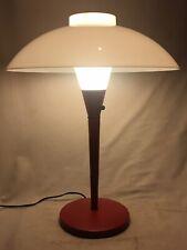 GERALD THURSTON LIGHTOLIER TABLE LAMP MUSHROOM SAUCER VINTAGE MID CENTURY MODERN