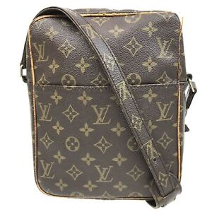 100% authentic Louis Vuitton Monogram Petit Marceau M40264 [Used] {04-0346}