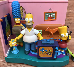 Simpsons Living Room Playset - Playmates World of Springfield