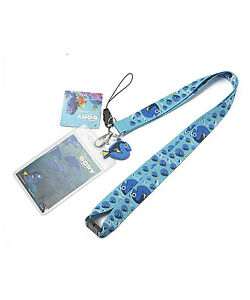 Finding Dory Dory Lanyard With Charm & ID Holder