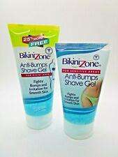 2 Pack Bikini Zone Anti-Bumps Shave Gel For Bikini Area - Brand New