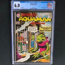 Showcase #33 💥 CGC 6.0 💥 Early Aquaman Appearance! Silver Age DC Comic 1961